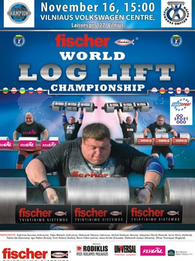 World Log Lift Championship
