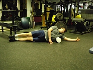 Foam Roller work for the Lats