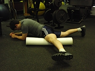 Foam Roller work for Quads