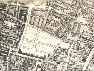 18thC Map of Moorfields