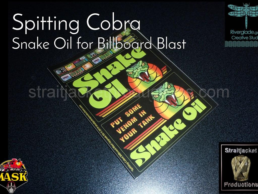 MASK M.A.S.K. Spitting Cobra Ultimate Upgrade Kit