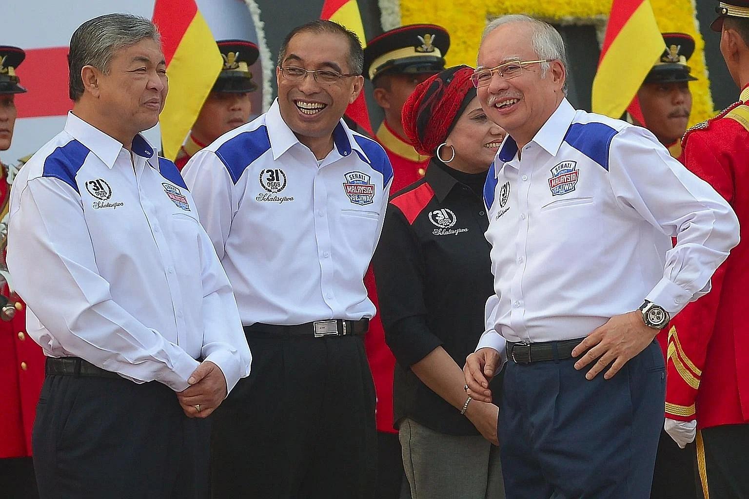 Image result for Najib Razak, Zahih Hamidi and Keruak