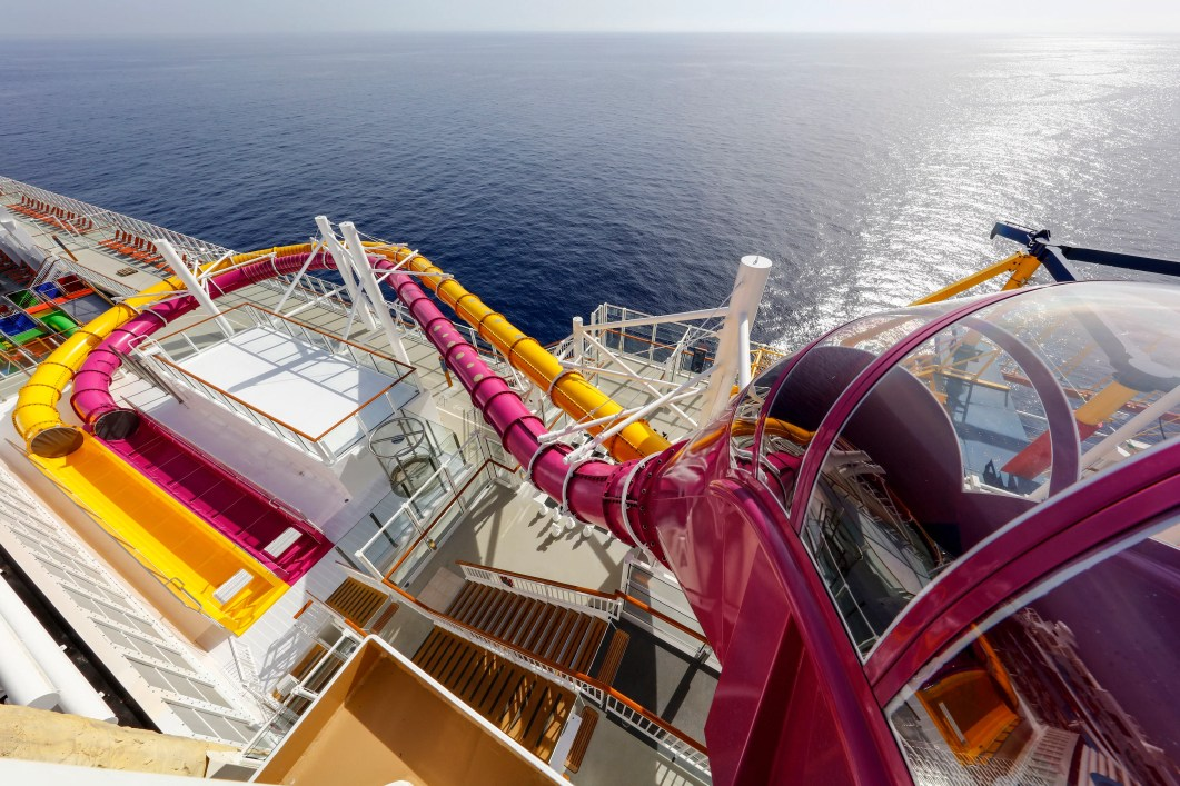 Image result for genting dream cruise water slides