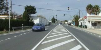Carretera N-340 Conil
