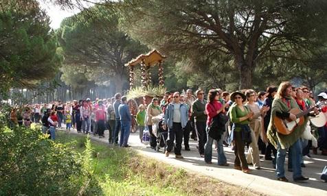 Romeria in Conil de la Frontera
