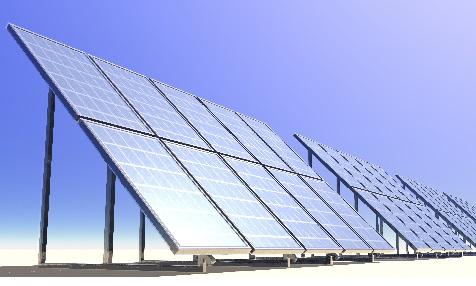 Solarzellen in Spanien