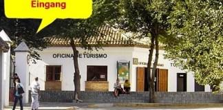 Eingang Rrastro Vejer de la Frontera