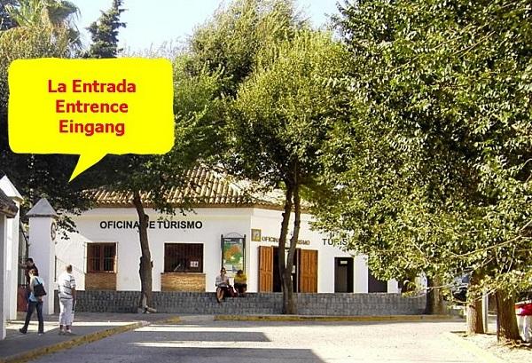 Eingang Rastro Vejer de la Frontera