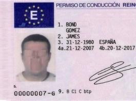 Spanischer Führerschein