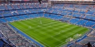 Estadio Santiago Bernabéu de Real Madrid