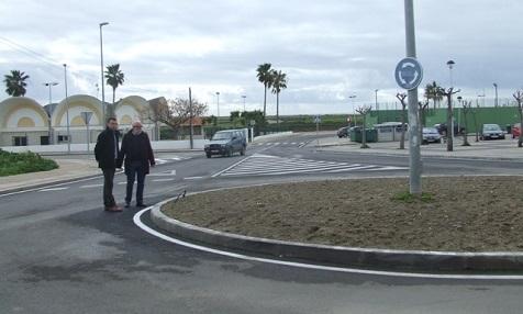 Kreisverkehr Conil