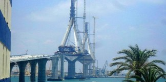 Neue Brücke in Cádiz