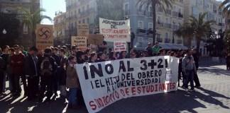Studentenproteste in Spanien