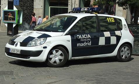 Policia Municipal Madrid