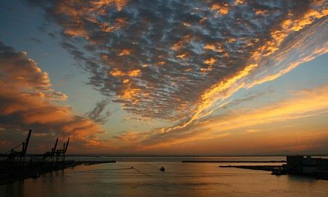 Sonnenuntergang Cadiz