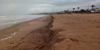 Unwetter in Chiclana