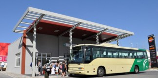 Busfahren in Andalusieni