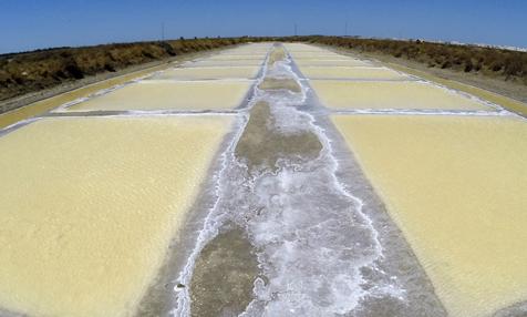 Die Salinen der Bahía de Cádiz