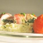 Chicken stuffed with spinach & ricotta