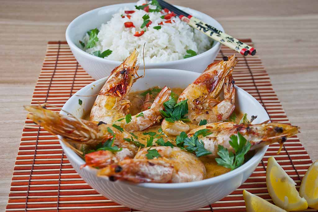 Low Fodmap Thai Red Prawn Curry