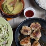 Green Curry, Crispy Chicken