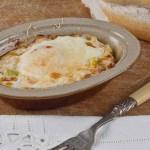 Salmon Baked Eggs -low Fodmap