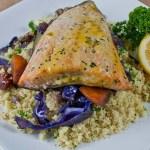 Salmon & Moroccan Couscous