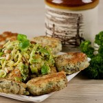 Wild Rice Cakes & Brussel Sprouts