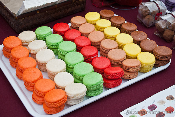 Macaroons at TheTaste of Auckland