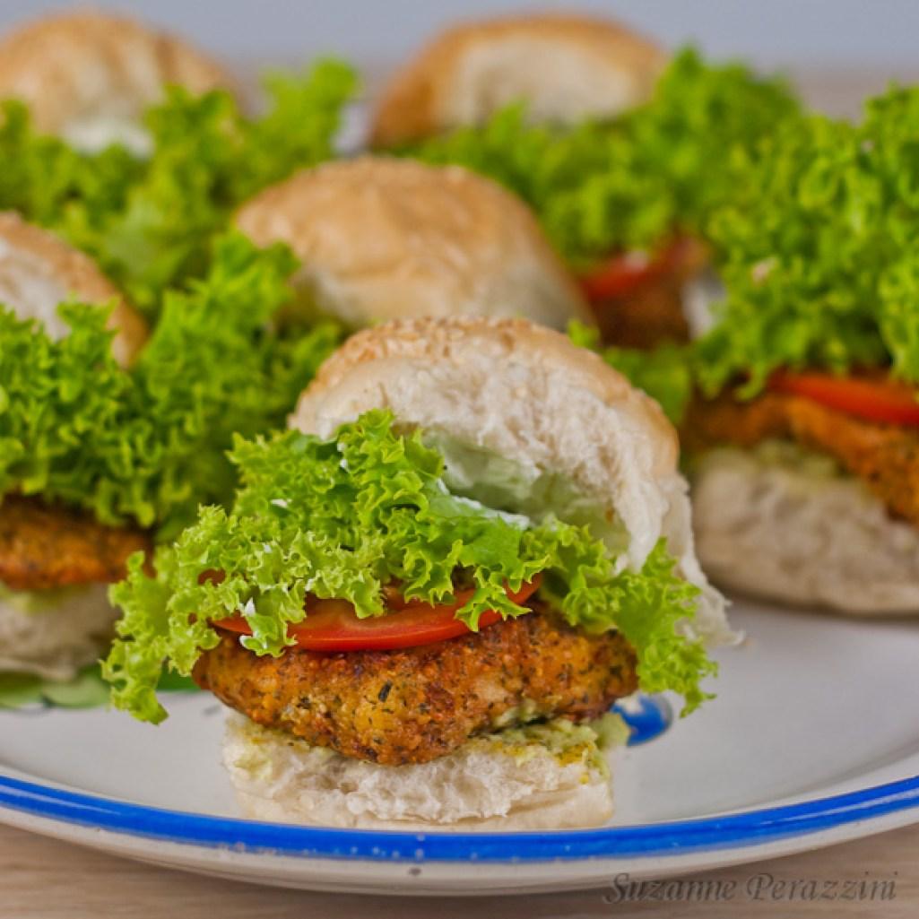 Falafel Chicken Sliders