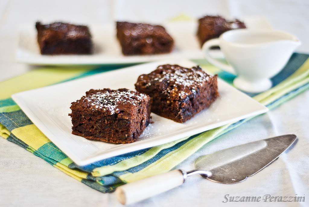 Chocolate Zucchini Brownies - gluten-free & fructose friendly