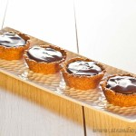 Caramel Lemon Curd & Chocolate Tartlettes - gluten free and low FODMAP