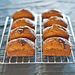 Mini banana Chocolate loaves 250 (1 of 2)
