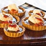 Chocolate Banana Tarts - gluten-free and low FODMAP