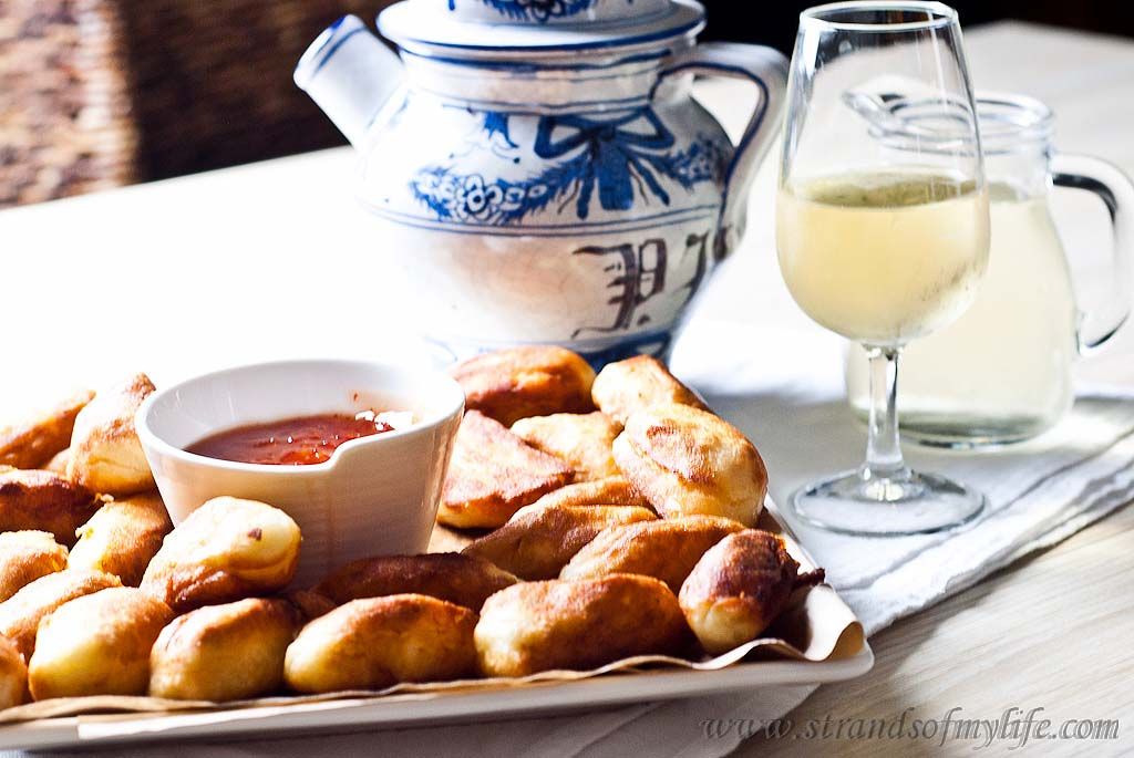 Fried Cheese Gnocchi Appetizers - gluten free & low FODMAP