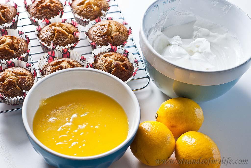 Lemon Meringue Cupcakes - gluten-free