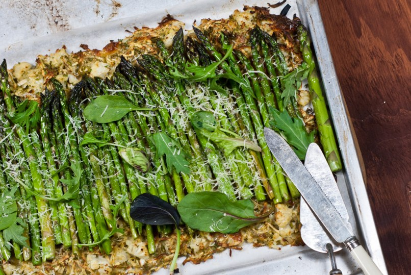 Asparagus and Vegetable Tart  - high fructans and polyol