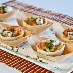 Smoked Chicken mini Quiches - Gluten-free & Low FODMAP