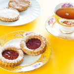Jam Cookies -gluten-free recipe and low FODMAP