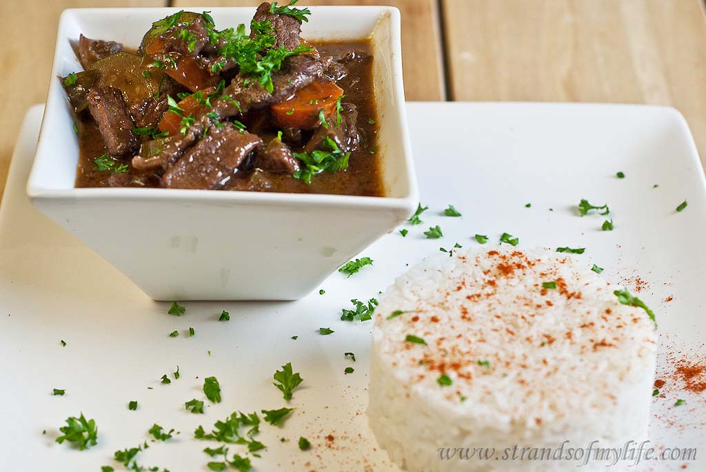 Beef Bourguignon -low Fodmap and gluten-free