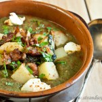 Spinach & Potato Soup - low Fodmap & gluten-free