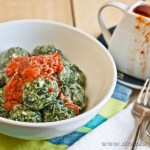 Spinach Gnocchi & Tomato Sauce – low Fodmap and Gluten-free
