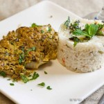 Fish in spicy yoghurt sauce – low Fodmap and gluten-free