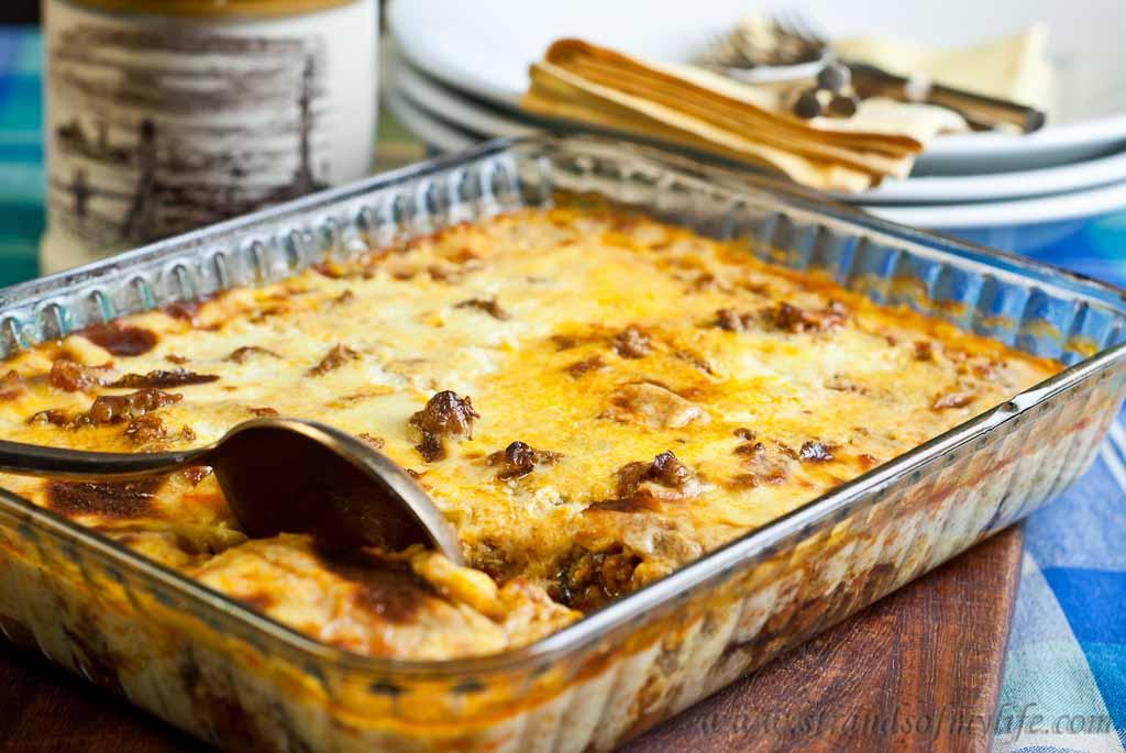Moussaka – low Fodmap and gluten-free