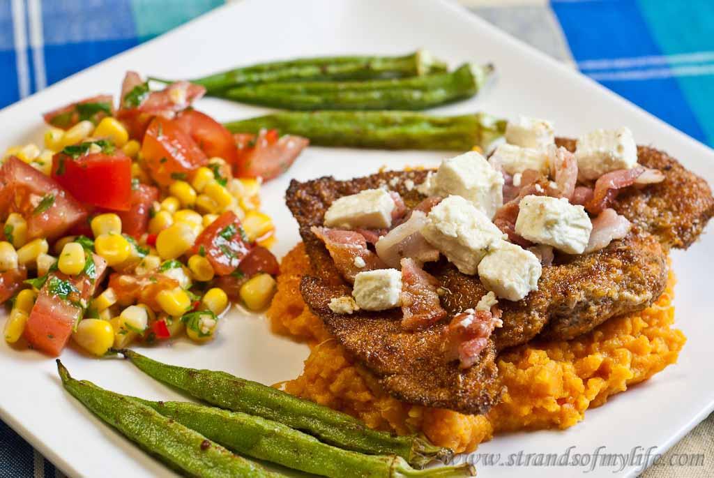 Spicy Cajun Chicken - low Fodmap and gluten-fre