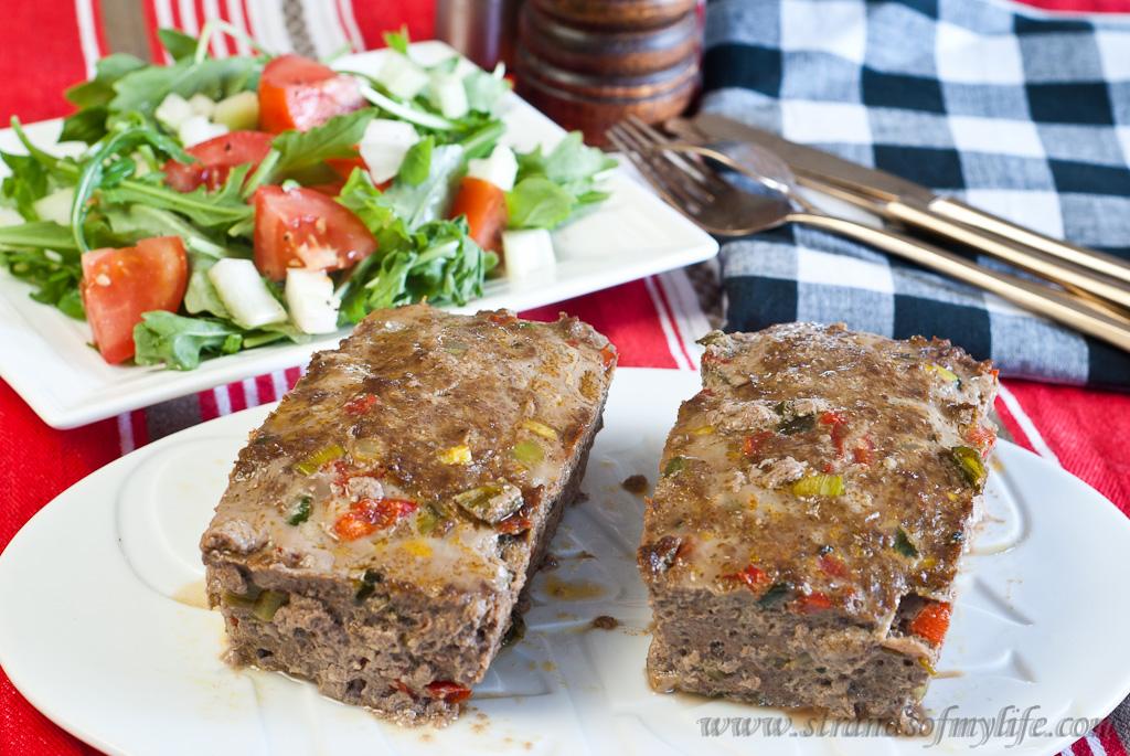 Curry Meatloaf - Low Fodmap & Gluten-Free