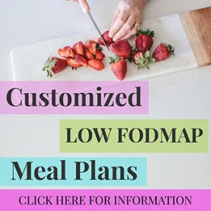 Low Fodmap Meal Plans