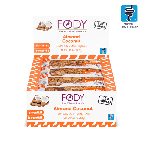 ALMOND COCONUT BARS (BOX OF 12 BARS)