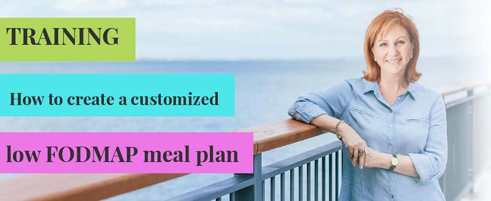 Training Session: How to create a customized low FODMAP meal plan