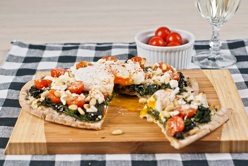 Low Fodmap Pita Pizza